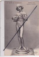 Dubois Paul -Chanteur Florentin - Musée Du Luxembourg (N° 11) Dos Publicité Lo-Lo-Tsé Isbetrg Dépôt Paris... - Skulpturen