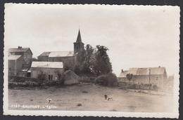 CPA -  Belgique, GRUPONT,  L'Eglise, Carte Photo - Saint-Hubert