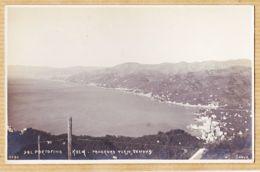 It284 Carte-Photo DAL PORTOFINO Liguria KULM Panorama Verso GENOVA Gênes 1910s J NEER 0090 - Genova (Genua)
