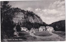 Kurort Oybin Mit Berg Oybin - Zittauer Gebirge - (1957) - Oybin