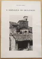 L'ABBAZIA DI DULZAGO DI GAVINELLI (NO) (210819) - Historia Biografía, Filosofía