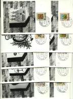 1968 - San Marino 755/64 Stemmi   - Cartoline - Buste