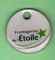 1 Jeton De Caddie *** FROMAGERIE DE L'ETOILE *** (0128) - Jetons De Caddies