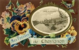 02 - CHAVIGNON - Mes Pensées. - Andere Gemeenten