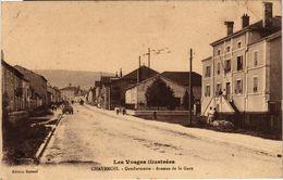 CPA Les Vosges Illustrées-CHATENOIS-Gendarmerie-Avenue De La Gare (184671) - Chatenois