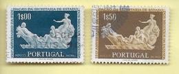 TIMBRES - STAMPS - PORTUGAL -1954 -150 ANS DE LA FONDATION DU SECRÉTARIAT DE L'ÉTAT DES AFFAIRES DE - TIMBRES OBLITÉRÉS - Oblitérés