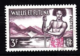 Wallis En Futuna 1957 Mi Nr  182 , Polynesiër,  Gestempeld - Used Stamps