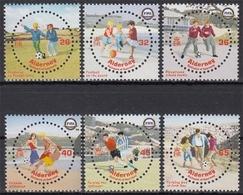 Alderney MiNr. 230/35 ** 100 Jahre Internationaler Fußballverband - Alderney