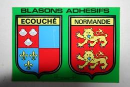61 : Blasons Adhédifs - Ecouché - Normandis - France
