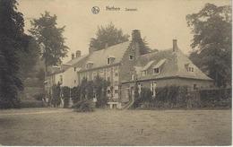 Nethen    Savenel.    -   RELAIS STEMPEL   1932   Naar   Walhain St. Paul - Grez-Doiceau