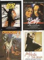 LOT DE 44 CARTES AFFICHES DE CINEMA DIVERS  A VOIR - 5 - 99 Cartes