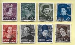 TIMBRES - STAMPS - SELLOS - FRANCOBOLLI - PORTUGAL - 1949 - AVIS - SERIE DE TIMBRES OBLITÉRÉS - 1910-... République