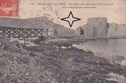 BEAULIEU-sur-MER. Un Petit COIN SAUVAGE - (carte Rare). - Beaulieu-sur-Mer