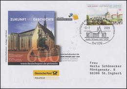 600 Jahre Universität Leipzig,  Auflage 2000! FDC ESSt Leipzig 2.7.2009 - BRD