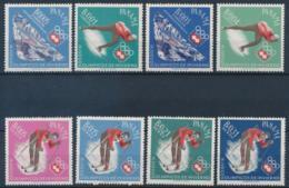 Panama, 1963, Olympic Winter Games Innsbruck, Medal Winners, MNH, Michel 677-684 - Panama