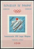 Panama, 1964, Olympic Summer Games Tokyo, Sports, MNH Imperforated, Michel Block 18 - Panama