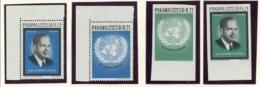 Panama, 1964, Hammarskjold, United Nations Day, MNH, Michel 759-762 - Panama