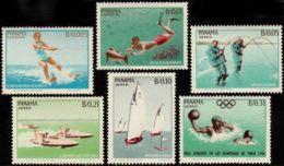 Panama, 1964, Olympic Summer Games Tokyo, Sports, MNH, Michel 734-739 - Panama