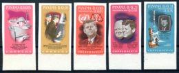 Panama, 1965, JFK, Kennedy, Space, MNH Imperforated, Michel 838-842 - Panama