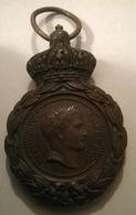 Médaille De Sainte Hélène 1857 Napoléon 1er - Médailles & Décorations