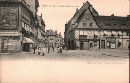 !  Alte Ansichtskarte Halle An Der Saale, Untere Geiststrasse, Geschäfte, Verlag Zedler & Vogel, Darmstadt Nr. 1510 - Halle (Saale)