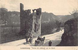Luxembourg-Ville - Ruine Du Château Sur Le Bock - Ed. Bernhoeft - 264. - Luxembourg - Ville
