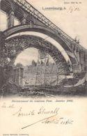 Luxembourg-Ville - Décintrement Du Nouveau Pont, Janvier 1902 - Ed. Bernhoeft - Edition 1902 N. 33. - Luxembourg - Ville
