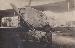 CARTE PHOTO // AVIATEUR  à Identifier - Aviation