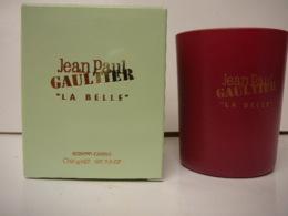 """GAULTIER """" LA BELLE"""" BOUGIE PARFUMEE  NEUVE  LIRE ET VOIR !! - Miniatures Femmes (avec Boite)"""