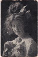 Junge Frau  / Vrouw / Femme / Woman - 1906 - Von: Leisnig (Sachsen) Zu Apolda (Thüringen) - Deutsches Reich - Vrouwen