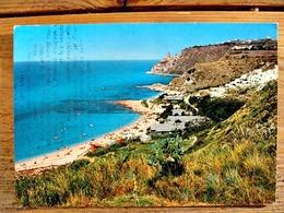 (FG.Y31) RICADI - CAPO VATICANO - SCOGLIERA E CAMPING (VIBO VALENTIA) Viaggiata 1973 - Vibo Valentia