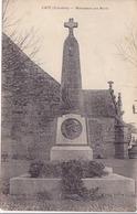 Cpa-29-cast-pas Sur Delc.--monument Aux Morts 14 / 18 -edi Nedelec - Otros Municipios
