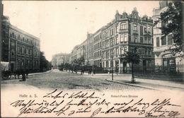 !  Alte Ansichtskarte Halle An Der Saale, Robert Franz Straße, 1905 - Halle (Saale)