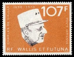 WALLIS ET FUTUNA 1973 - Yv. PA 48 **   Cote= 19,50 EUR - Général De Gaulle  ..Réf.W&F22405 - Ungebraucht