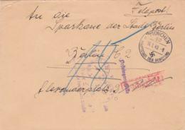 German Feldpost WW2: Luftnachrichtenschule 3 In München P/m München 60 16.1.1940 - Set Into Taxe Percue To - Militaria