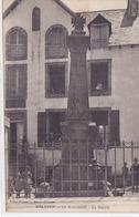 Cpa-29- Melgven-pas Sur Delc.-personnages-monument Aux Morts 14 / 18 -edi Etienne Le Grand - France