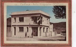 CPA - SAINT-ZACHARIE (83) - Aspect Du Bâtiment De La Poste Pavoisé Pour L'inauguration En 1948 - Saint-Zacharie