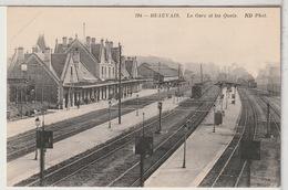 60 - BEAUVAIS - La Gare Et Les Quais - Train - Beauvais