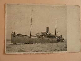 "STEAMER ""GOTH""  Union Castle Line - Schiffe"