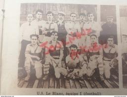 1932 LE BLANC ( 36 ) U. S. LE BLANC ( FOOTBALL ) - Journaux - Quotidiens