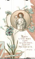 CHROMO IMAGE RELIGIEUSE PREMIERE COMMUNION - Images Religieuses