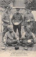 GUERRE EUROPEENNE   NOS ALLIERS ANGLAIS ET HINDOUS   WW1 - War 1914-18