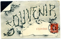 92 - Souvenir D'ASNIERES - - Asnieres Sur Seine