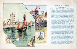 VENDEE - Les Sables D' Olonne - Edition Spéciale Des Pastilles VALDA  (116044) - Unclassified