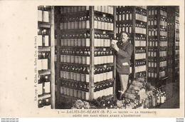 D64  SALIES DE BÉARN   Saline La Pharmacie Dépôt Des Eaux Mères Avant L'Expédition - Salies De Bearn
