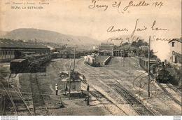 ESPAGNE  IRUN  La Estacion - Guipúzcoa (San Sebastián)