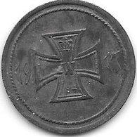 *notgeld  Kunzelsau 10 Pf 1917 Zn 7563.2/F 263.2 - [ 2] 1871-1918 : Duitse Rijk