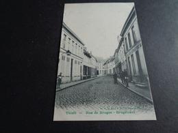 Belgique  België ( 390 )   Thielt   Tielt  :  Rue De Bruges  - Brugstraat - Tielt