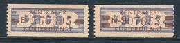 DDR Dienstmarken B 20/21 ** Nachdrucke Geprüft Weigelt Mi. 75,- - [6] Repubblica Democratica