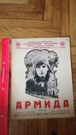 Музикална библиотека Bulgaria RUSSIA YUGOSLAVIA VINTAGE MUSIC SHEET BOOK SONG ARMIDA G. KOLČAGOV Piano - Altri Oggetti